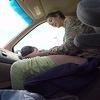 Elle a accouché de son bébé dans la voiture en route vers l'hôpital !