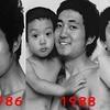Ce papa et son fils prennent la même photo pendant 27 ans !