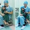 Cet incroyable chirurgien apaise un enfant paniqué avant une opération
