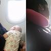 Cette maman a été bouleversée par le geste de cette passagère dans l'avion